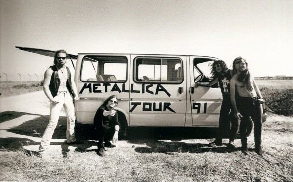 metallica van tour from 1991