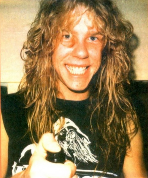 very young metallica james hetfield
