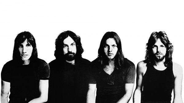 Classic Pink Floyd Photo Band Members In 1972 Meddle Era
