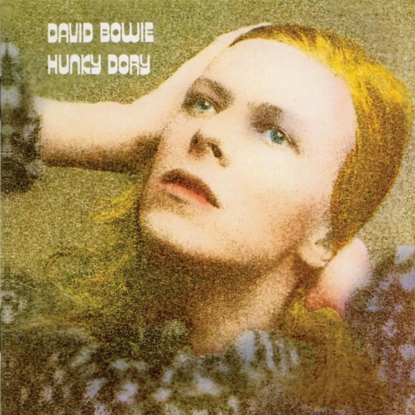 David Bowie Hunky Dory cover art wallpaper
