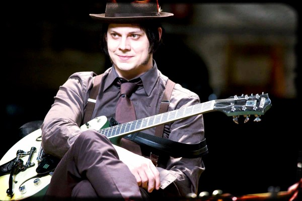 jack white hat style and guitar