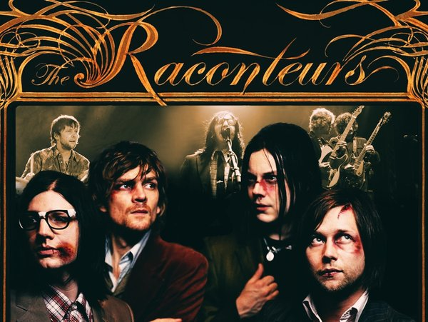 jack white The Raconteurs Wallpaper