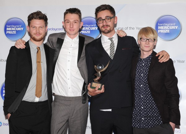 Alt J Band MembersAt Mercury Prize Ceremony