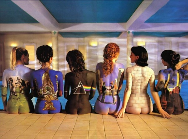 Naked Women Pink Floyd Artwork Wallpaper