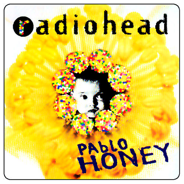 Radiohead 1993 Pablo Honey Cover Album Wallpaper