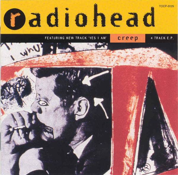Radiohead Creep Single Cover Art