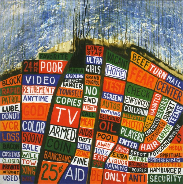 Radiohead Hail To The Thief Album Cover Wallpaper