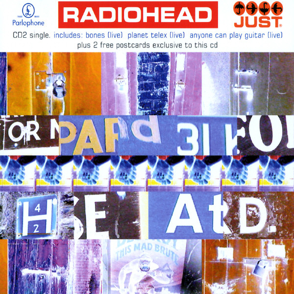 Radiohead Just Cd Single Cover