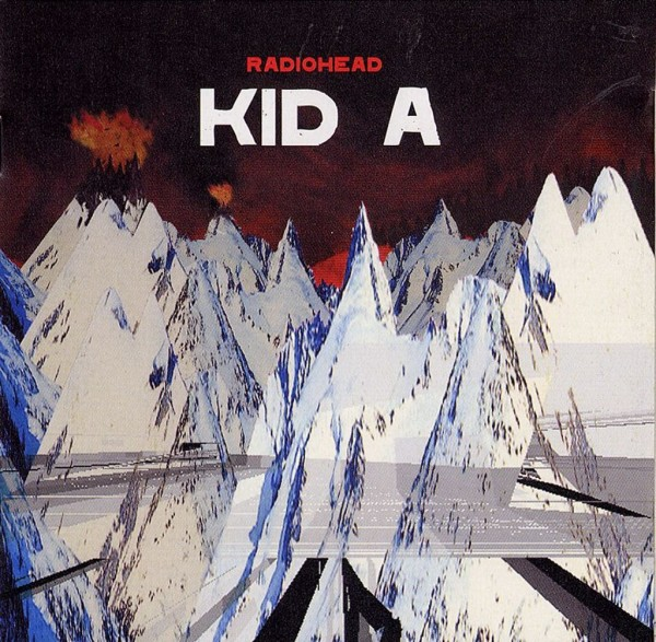 Radiohead Kid A Album Cover Wallpaper