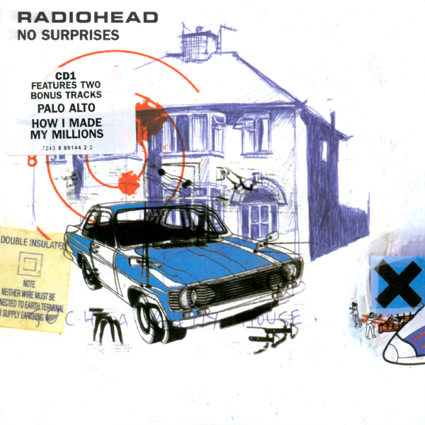 Radiohead No Surprises EP Cover