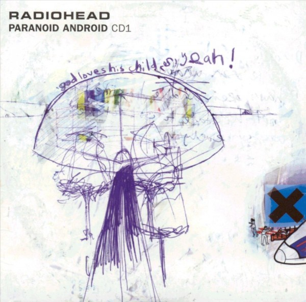 Radiohead Paranoid Android Single Cover Wallpaper