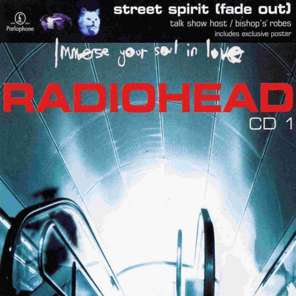 Radiohead Street Spirit Fade Out CD Single Front Cover