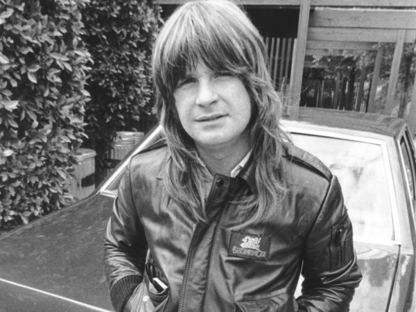 Young Ozzy Osbourne From Black Sabbath