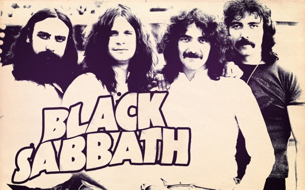 Black Sabbath Music Large Wallpaper