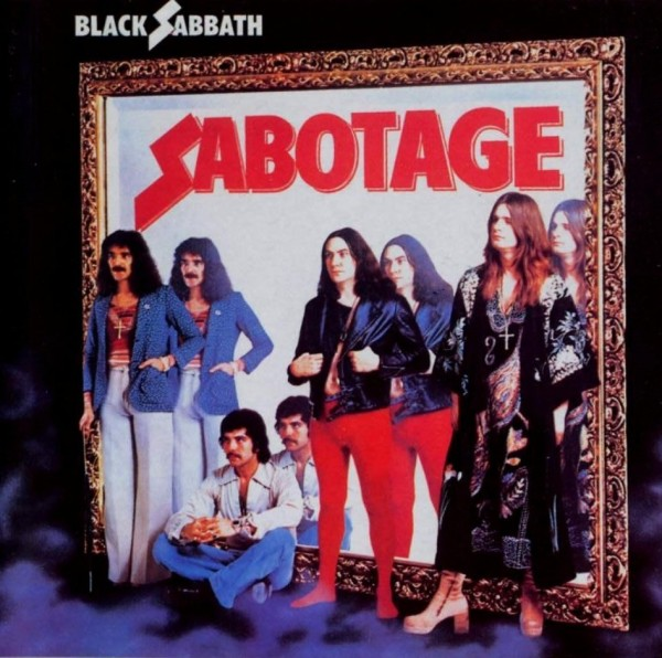 Black Sabbath Sabotage Cover Album