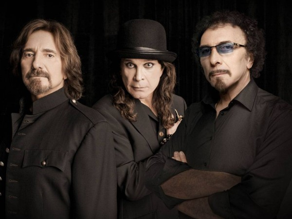 Black Sabbath Trio In 2013 HD Photo