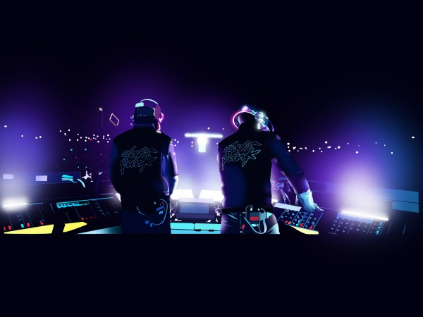 Daft Punk Llive Wallpaper