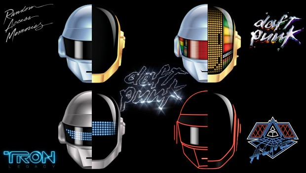Daft Punk Masks Evolution
