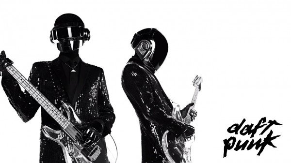 Daft Punk Playing Instruments Wallpaper