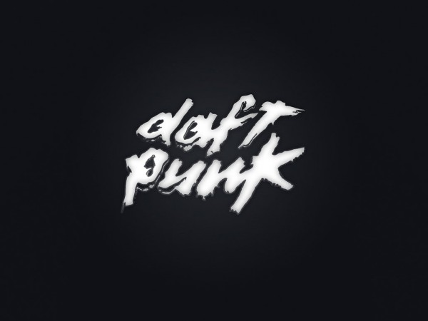 Daft Punk Silver Logo Vector Image Wallpaper