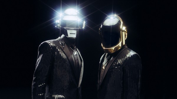 Daft Punk Suite And Tie Wallpaper