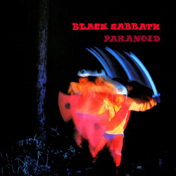 Paranoid Black Sabbath Cover Wallpaper