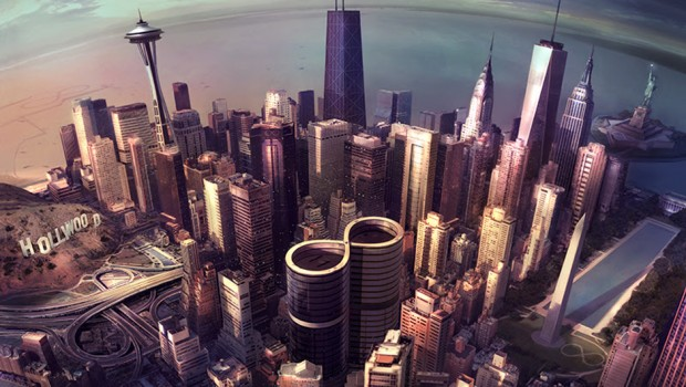 foo fighters sonic highways album