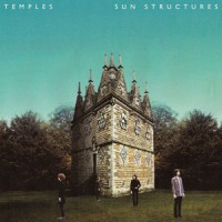 Sun Structures the temples album art