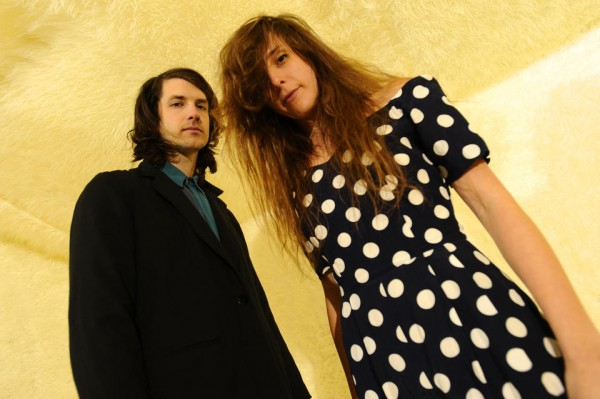Beach House Band Duo Large Wallpaper