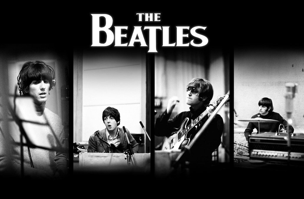 The Beatles Band Logo Wallpaper 1