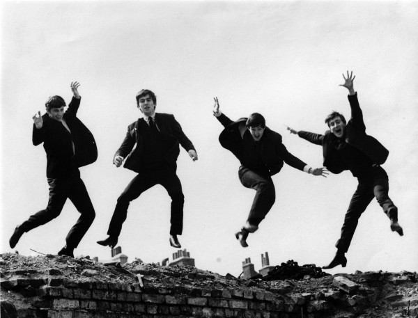 The Beatles Jump Wallpaper