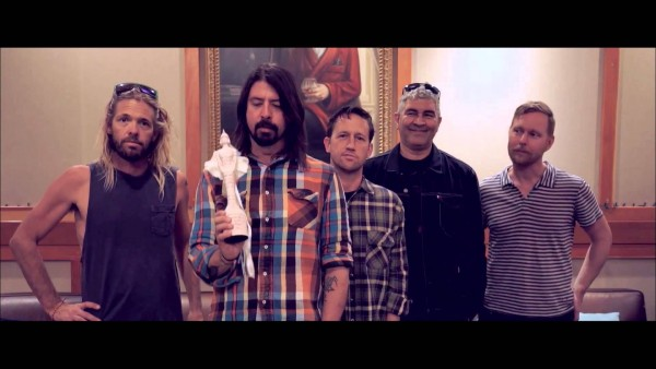 Foo Fighters Brit Awards 2015