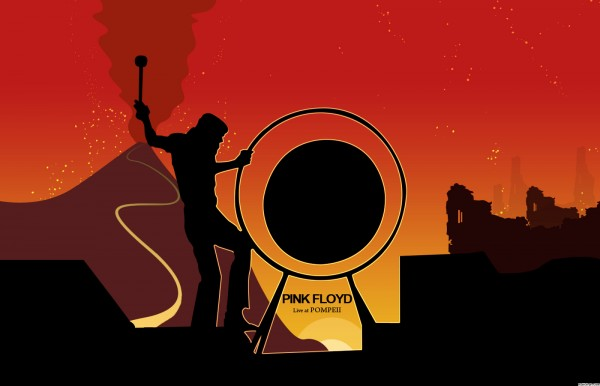 Pink Floyd Live At Pompei Wallpaper