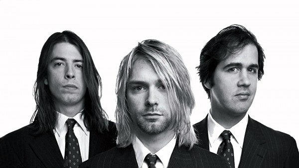 High Quality Nirvana Black and White Wallpaper