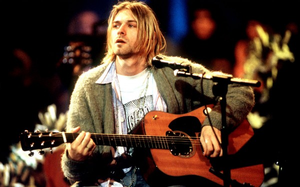 Kurt Cobain MTV Unplugged in New York HD Wallpaper