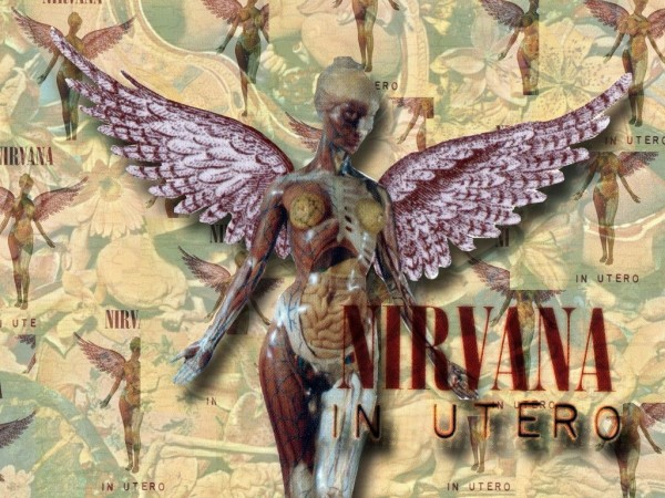 Nirvana In Utero Background Wallpaper