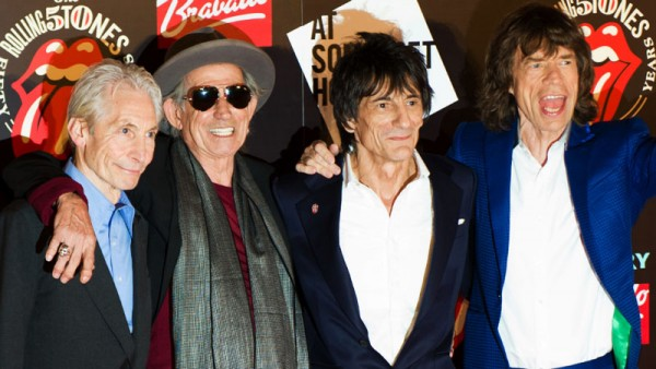 The Rolling Stones looking very aged in 2015