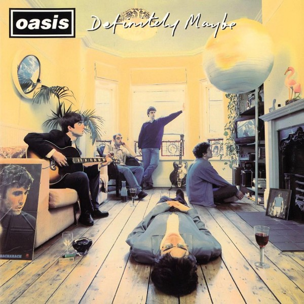 Oasis Definitely Maybe Cover Album Wallpaper