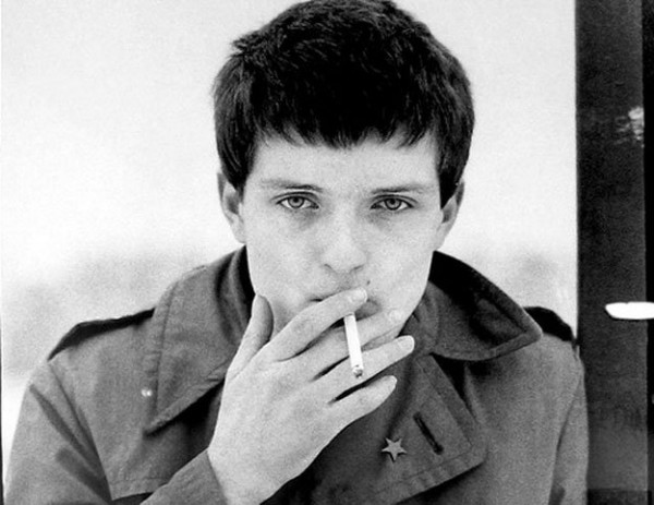 ian curtis smoking poster 1