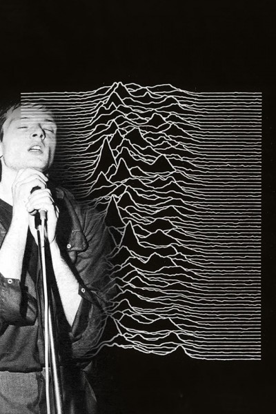 ian curtis unknown pleasures wallpaper