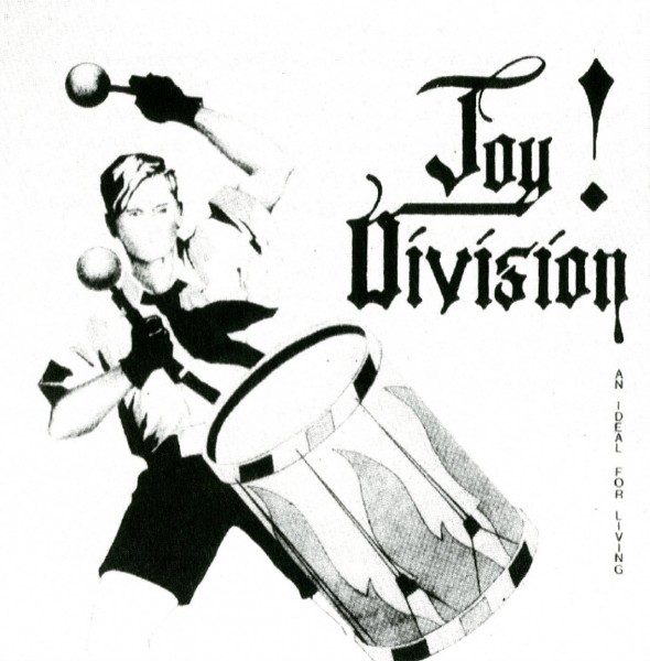 joy division an ideal for living ep cover artwork