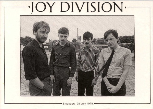 joy division stockport 1979 concert promotion photo
