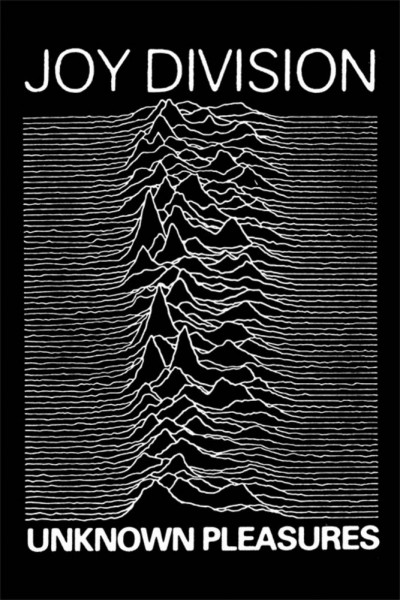 joy division unknown pleasures large poster
