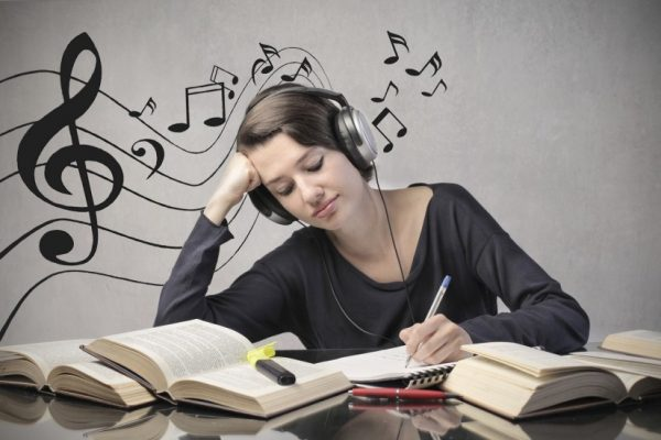 Studying to the sound of music